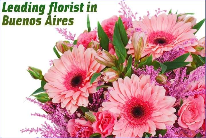 Leading florist in Buenos Aires