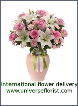 Send flowers worldwide